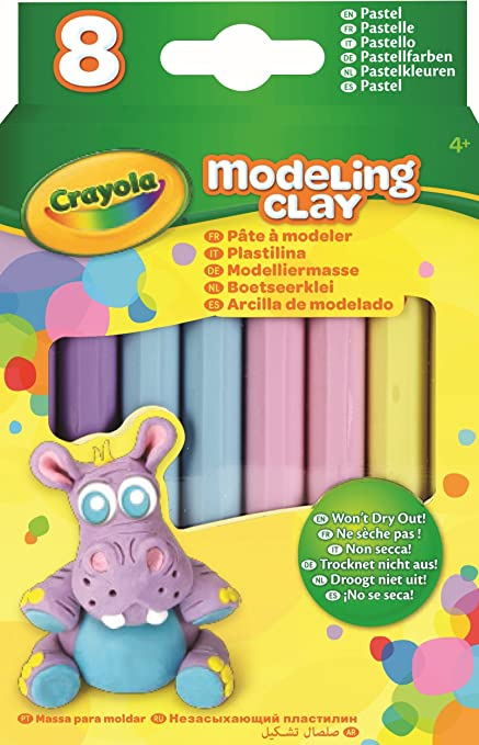 Crayola 8 Natural Colours Modelling Clay