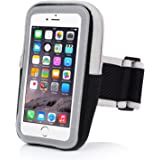 iPhone 6 Armband iPhone 6S Sports Armband- Badalink Running Armband Cell Phone Holder For Running Arm Band Case Strap Workout for iPhone 6 6S iPod Touch (Black)
