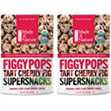Organic Made In Nature Figgy Pops Tart Cherry Fig Super Snacks (2 16 oz bags)