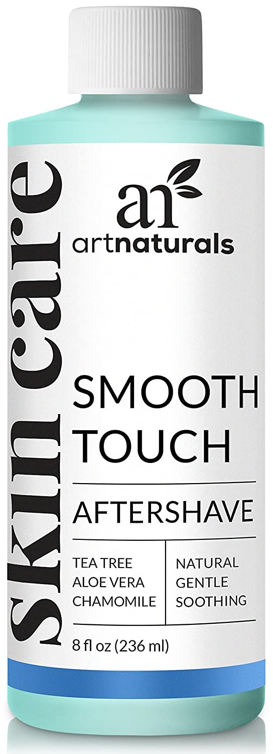 ArtNaturals Smooth Touch Ingrown Hair Removal Serum - (8 Fl Oz / 236ml) - Natural Aftershave For Razor Burns, Bumps & Redness - For Men, Women, Face, Body & Bikini Lines ANGA-0820-VE
