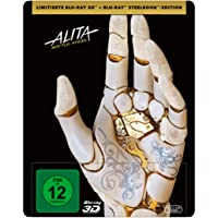 Alita: Battle Angel (3D Steelbook + 2D Blu-ray)