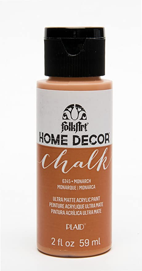 Amazon Com Folkart Home Decor Chalk Furniture Craft Paint In Assorted Colors 2 Oz Monarch