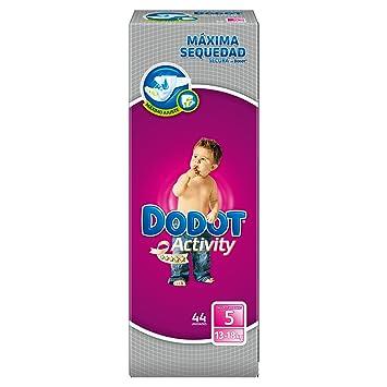 Dodot Activity - Pañales talla 5 (13-18 kg), 3 Paquetes x 44: 132 unidades: Amazon.es: Belleza