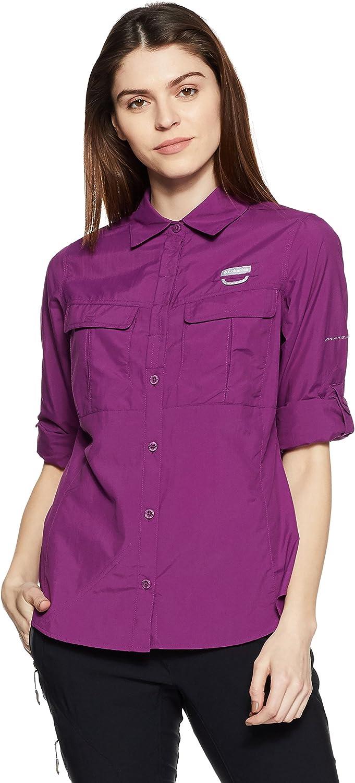 Columbia Sportswear Cascades Explorer - Camiseta de Manga Larga para Mujer: Amazon.es: Deportes y aire libre