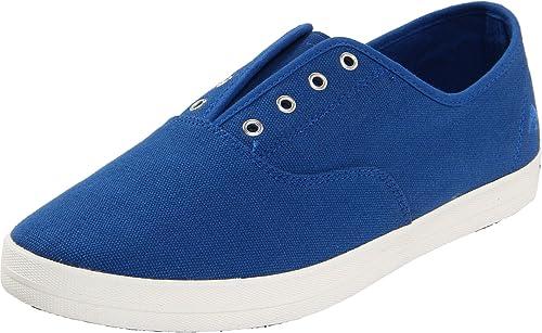 Emerica REYNOLDS CHILLER FUSION - Zapatillas de cuero para hombre, color azul, talla 42.5 EU / 9.5 US