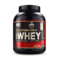 Optimum Nutrition Gold Standard 100% Whey Protein Powder, Double Rich Chocolate,...