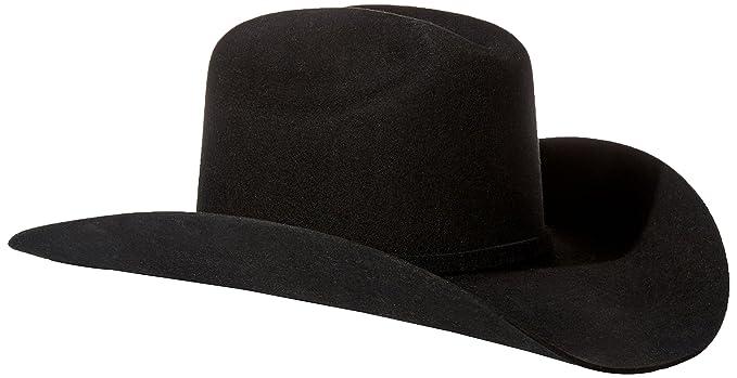 e7d83dc8c5dd5 Stetson Men's 3X Oakridge Wool Cowboy Hat Black 7 1/4 [Apparel ...