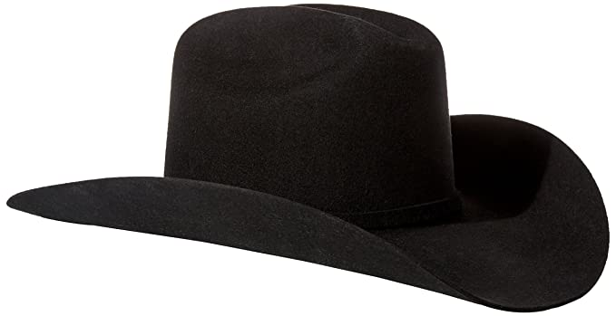 080daf14f07 Stetson Men s 3X Oakridge Wool Cowboy Hat - Swoakr-724007 Black at ...