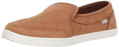 Black Sanuk 1019551 Women/'s Pair O Dice Slip-On Sneaker