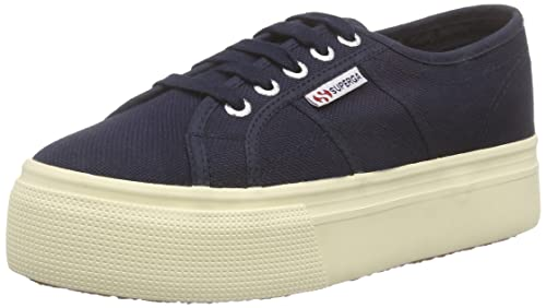 Tg. 41 EU 7 UK Superga 2790Acotw Linea Up And Down Sneaker Donna Nero 996