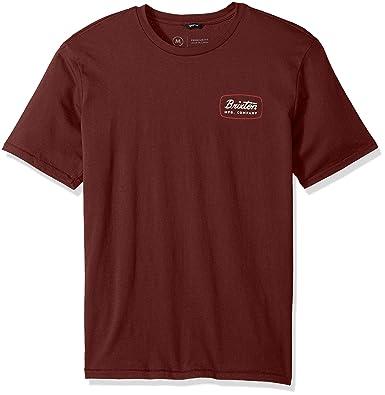 ce6523f4bb9 Amazon.com: Brixton Men's Jolt Short Sleeve Premium Fit Tee: Clothing