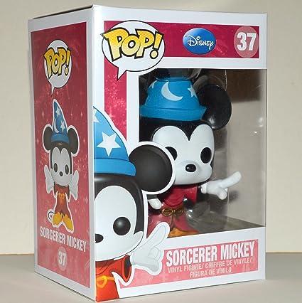 Amazon.com: Pop. Sorcerer Mickey Mouse vinilo figura por ...