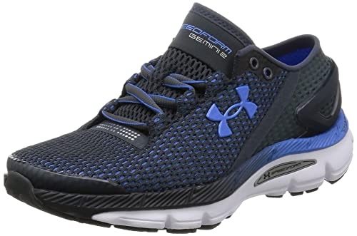 dadf946363c Under Armour Women s UA Speedform Gemini 2.1 Stealth Gray White Water  Sneaker 5.5 B