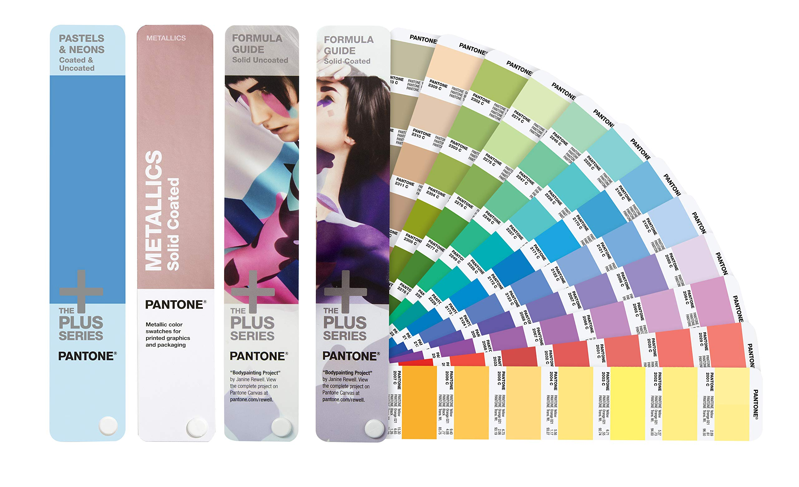 PANTONE GP1605M Plus Series Solid Color Fan Guide Set 2019