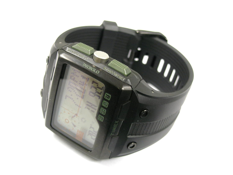 5ce9ac0a8241 Timex Expedition WS4 T49664 - Reloj de pulsera con brújula y GPS   Amazon.es  Relojes