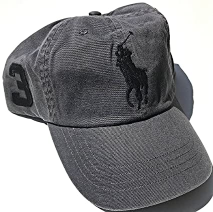 5aac188d94261 Image Unavailable. Image not available for. Color  RALPH LAUREN Polo Men Women  Cap Horse Logo Adjustable