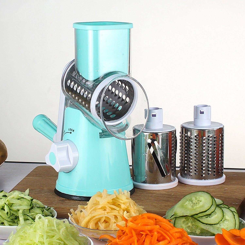 Amazon.com: Vovoly Vegetable Mandoline Cheese Slicer Cutter Chopper ...