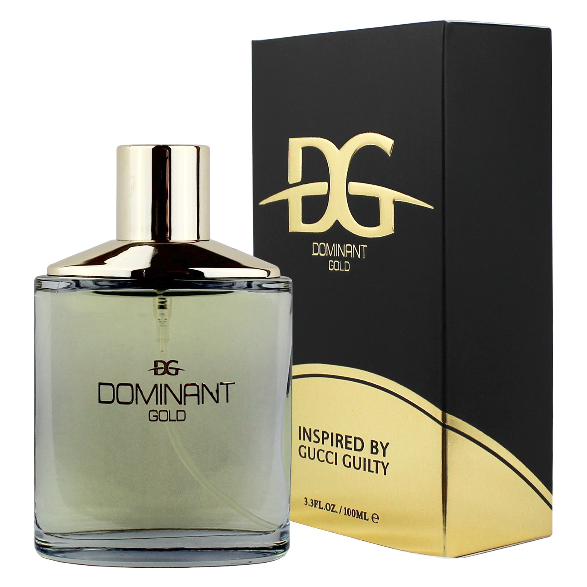 Dominant Gold Eau De Toilette Cologne For Him 3.4 Fl. Oz./ 100 ml