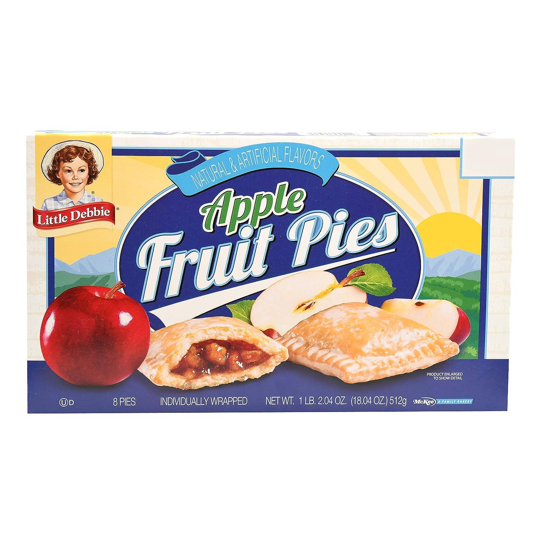 Little Debbie Fruit Pies (Apple) 17. 19 oz, 8 Ct