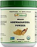 Best Naturals Certified Organic Ashwagandha Powder 8 OZ (240 Gram), Non-GMO Project Verified & USDA Certified Organic