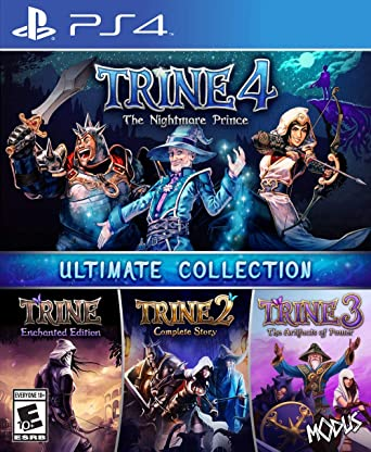 Trine Ultimate Collection for PlayStation 4 [USA]: Amazon.es ...