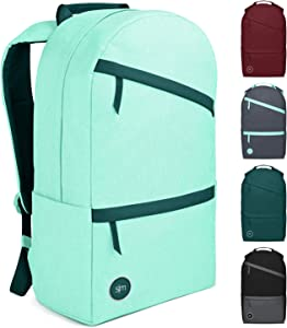 Simple Modern Legacy Backpack with Laptop Compartment Sleeve - 25L Travel Bag for Men & Women College Work School - Lagoon (Accent)