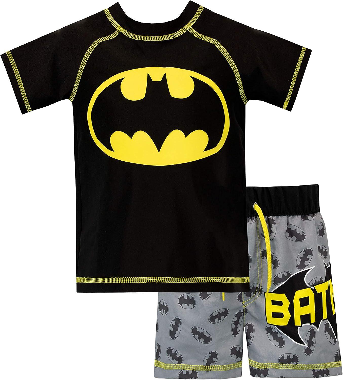 BATMAN Boys Two Piece Swim Set