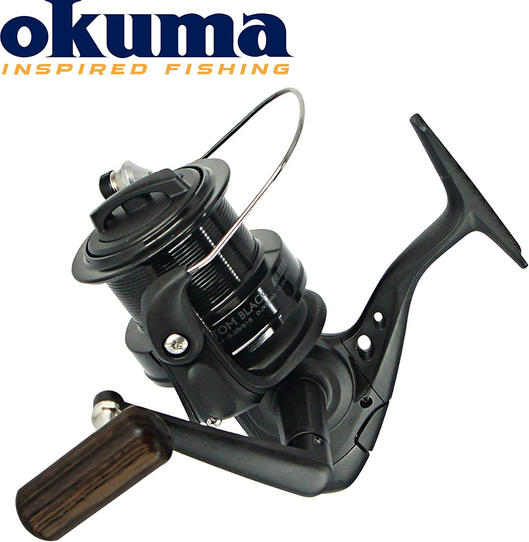 Okuma Custom Black CB-60 CB-80 Karpfen Waller Angelrolle inklusive Ersatzspule