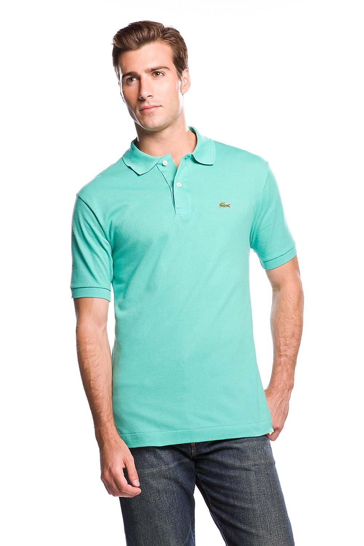 Lacoste ラコステMen's L-1212,半袖 鹿の子 ポロシャツ(並行輸入品) B0042FH854 X-Small ミント ミント X-Small