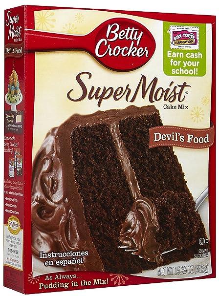 Betty Crocker Super Moist Devils Food Cake Mix - 432 gr