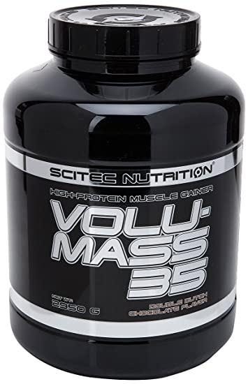 High Protein Lean - Mass Gainer Chocolate Scitec Nutrition Volu-mass35 2950gr