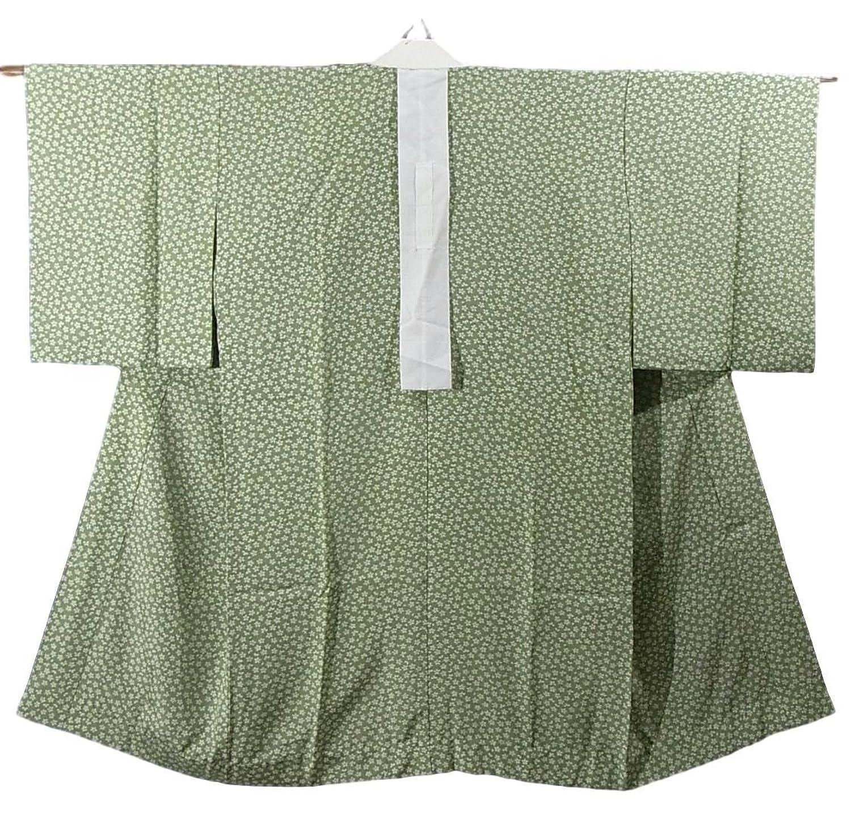 リサイクル 着物 襦袢 袖無双 小桜模様 正絹 裄62cm 身丈114cm B07DSDFH9L  -