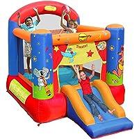 Happy Hop- Theater Slide and Hoop Bouncer, (9304T)