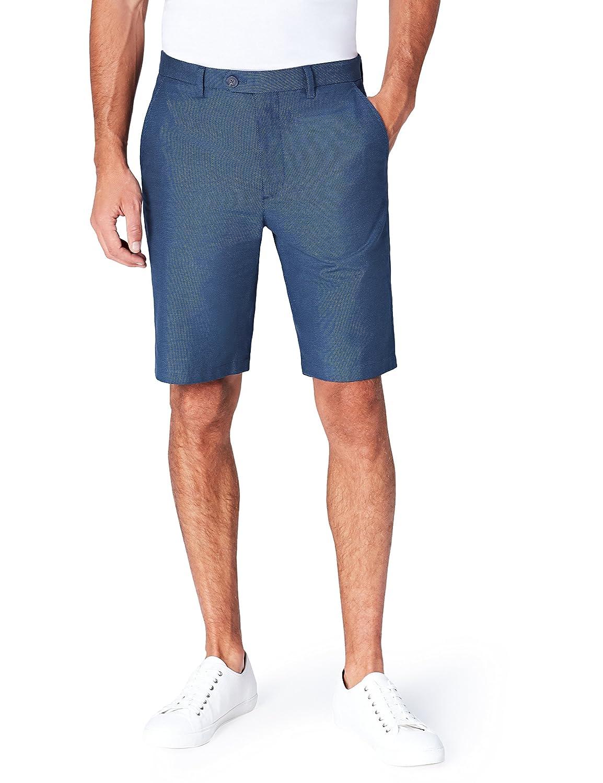 Marca Amazon - find. Pantalones Clásicos Cortos Hombre