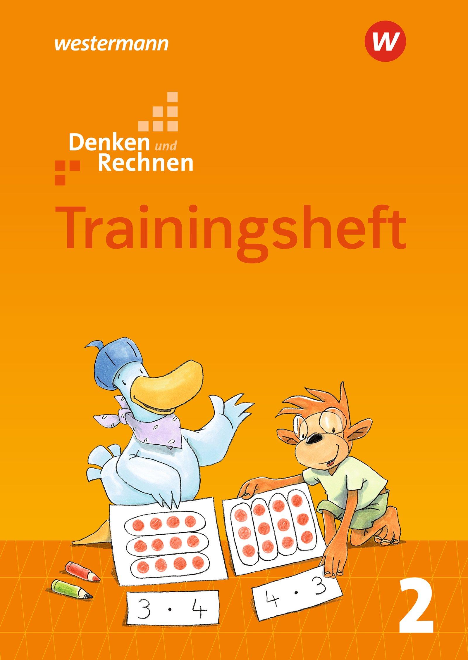 Denken und Rechnen - Zusatzmaterialien Ausgabe 2017: Trainingsheft 2 Broschüre – 1. Januar 2018 Westermann Schulbuch 3141267227 Berlin Brandenburg