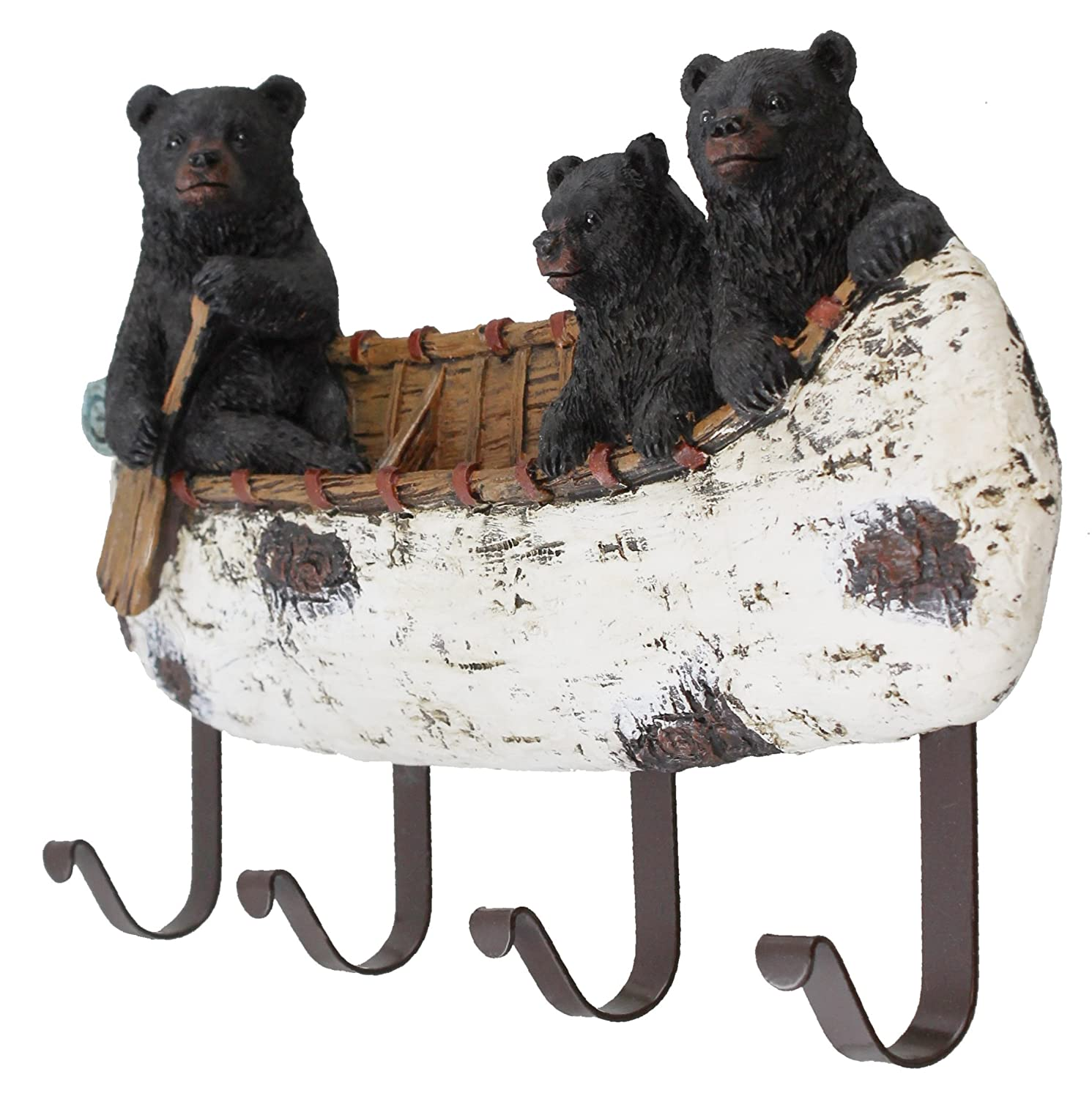 Amazon.com: Oso y cubitos negros para decoración de canoas ...
