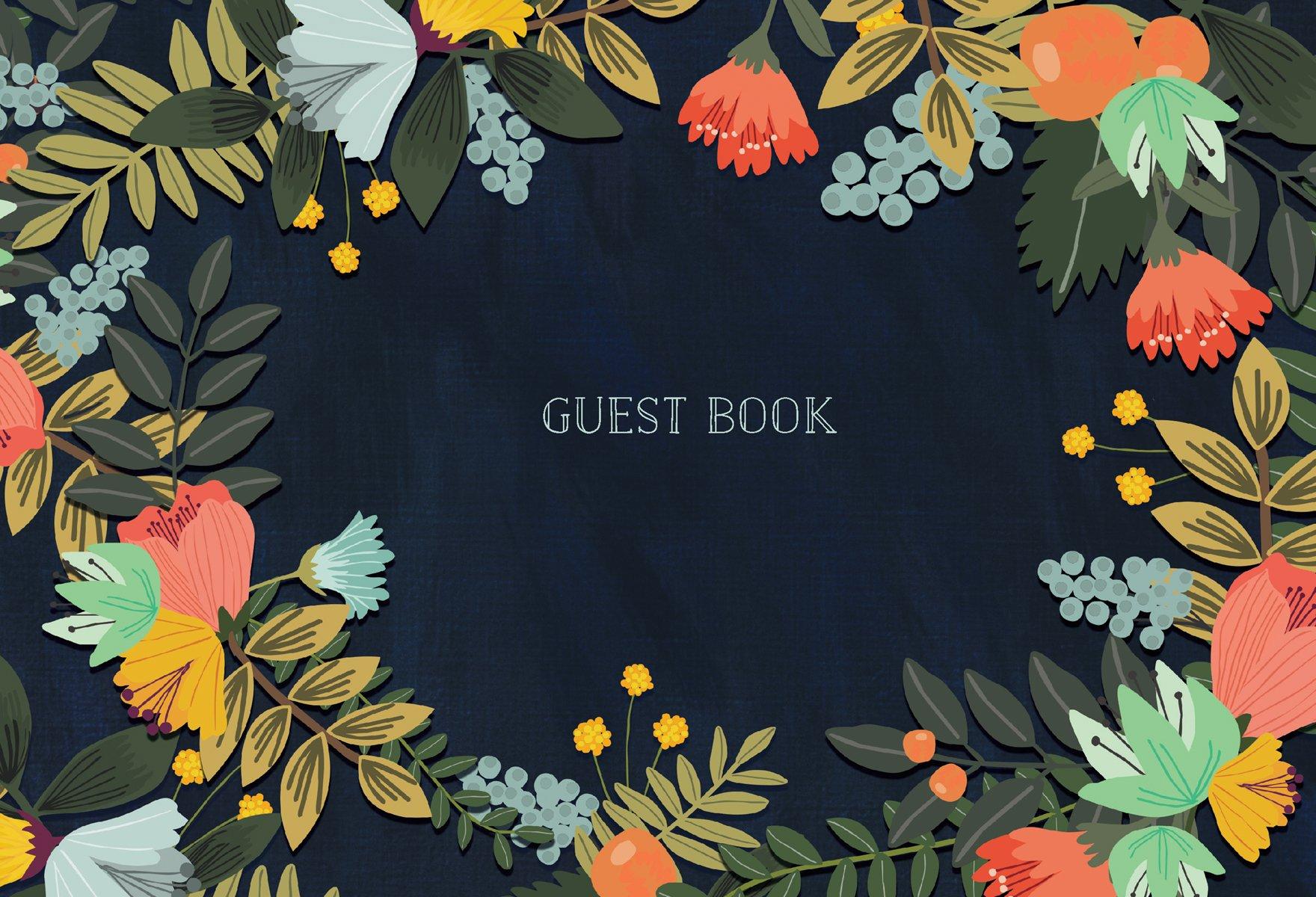 6c6e2de76 Guest Book: Modern Floral Edition: Mia Charro: 9781631063831: Amazon ...
