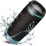 TREBLAB HD77 - Ultra Premium Bluetooth Speaker - Loud 360° HD Surround Sound, Wireless Dual Pairing, 25W Stereo, Loud Bass, 2