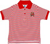 University of Maryland Terps Striped Polo Shirt