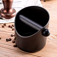 Espresso Coffee Knock Box Shock-Absorbent Durable Barista Style Coffee Knock Box Container Anti Slip Coffee Grind Dump…