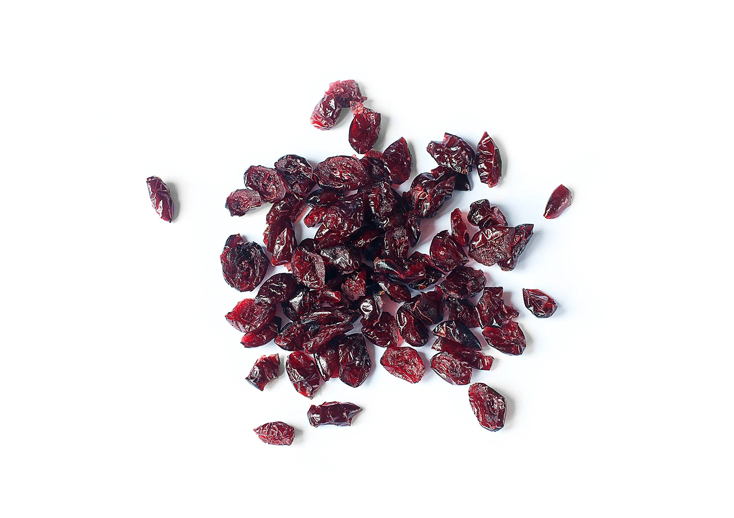 Organic Dried Cranberries, 25 Pounds — Non-GMO, Kosher, Unsulfured, Bulk