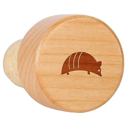 Tapón de madera de arce para botella de vino con corcho - Tapón ...