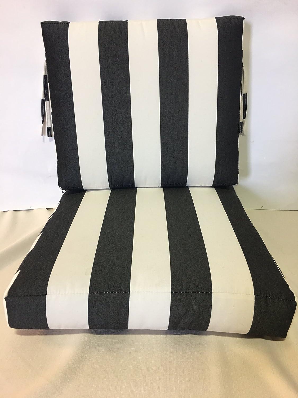 Surprising Amazon Com Cushionworld 2 Piece 24 Wide X 26 Deep Seat X 20 Squirreltailoven Fun Painted Chair Ideas Images Squirreltailovenorg