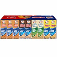Lance Sandwich Crackers & Cookies Variety Pack, 36-Pk ( ONE BOX )