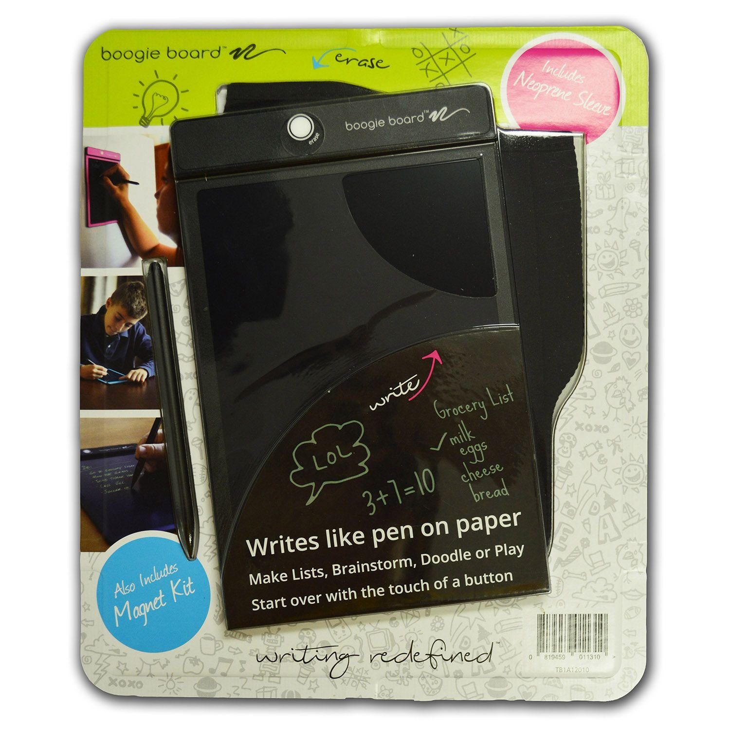 Intelligent Boogie Board 8.5 Ewriter Neoprene Sleeve Black Modern Techniques Graphics Tablets/boards & Pens Computers/tablets & Networking