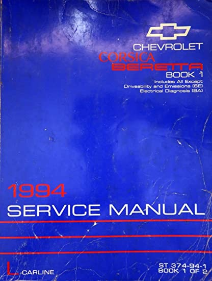 corsa utility service manual