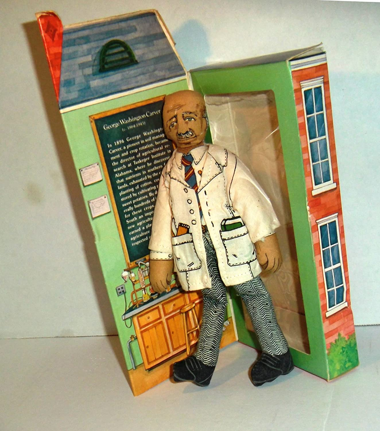 Hallmark Collectible Doll - George Washington Carver, Famous Americans Series 1 DT113-7