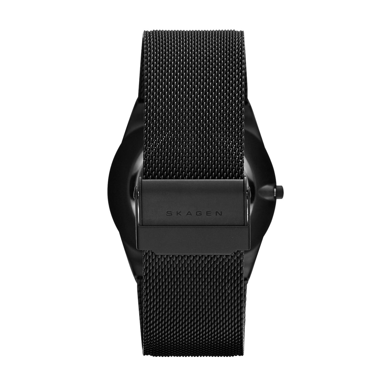 Skagen SKW6006P - Reloj (Reloj de pulsera, Masculino, Titanio, Negro, Acero inoxidable, Negro): Skagen: Amazon.es: Relojes