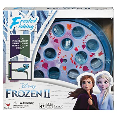 Cardinal Games 6054132 Disney Frozen 2 Frosted Fishing Game for Kids & Families: Toys & Games