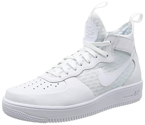 buy online 18bc2 a2072 Nike Air Force 1 Ultra Force Mid Sneaker Uomo, Bianco